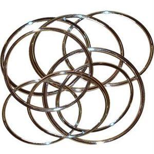 Bild von Anneaux chinois (8 de 20 cm) Les anneaux chinois….le grand classique de la magie toujours aussi spectaculaire.8 anneaux chromés s... »