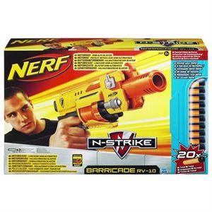 Bild von Hasbro - Pistolet Nerf Barricade 20 cartouches dont 10 offertes