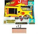 Image de Hasbro - Pistolet Nerf Maverick 12 cartouches dont 6 offertes