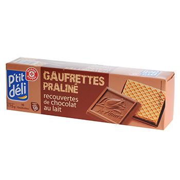 2017 fashion items - Biscuits P Tit D 233 Li Gaufrettes Pralin 233 Chocolat Au Lait