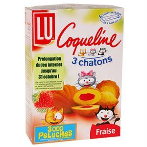 Изображение Biscuits Coqueline Lu Fraise 165g